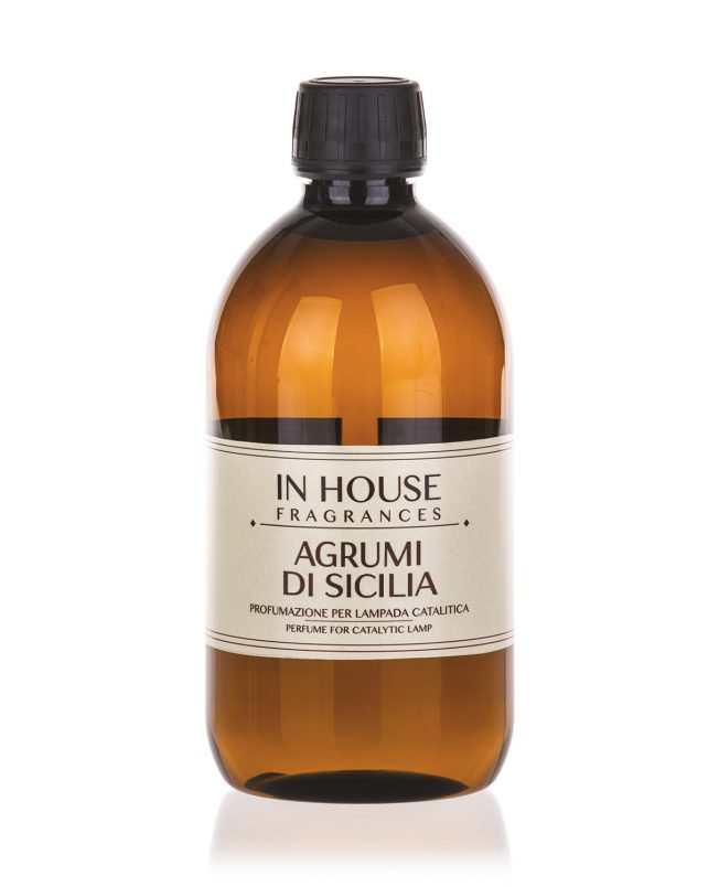 In House Fragrances - Agrumi di Sicilia Ricarica Catalitica 500ml - Compra online Spray Parfums