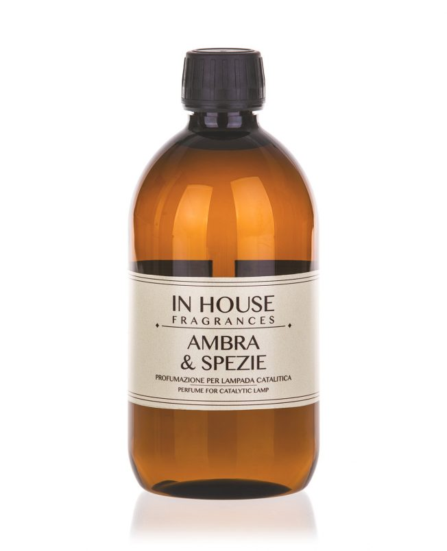 In House Fragrances - Ambra & Spezie Ricarica Catalitica 500ml - buy online Spray Parfums