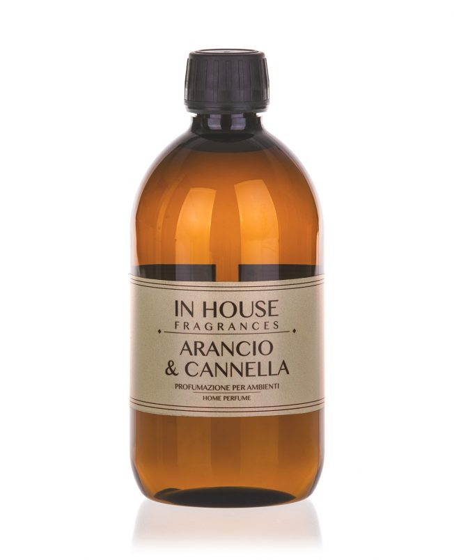 In House Fragrances - Arancio & Cannella Ricarica Profumo 500ml - Compra online Spray Parfums