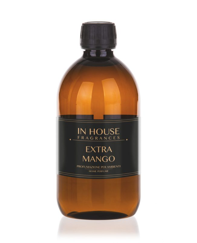 In House Fragrances - Extra Mango Ricarica Profumo casa 500ml - Compra online Spray Parfums