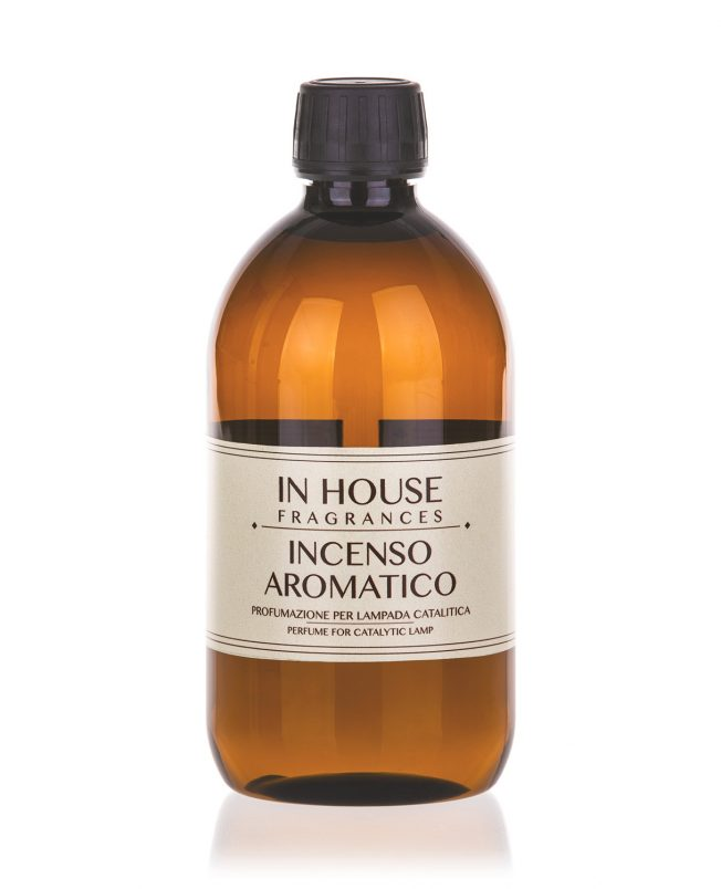In House Fragrances - Incenso Aromatico Ricarica Catalitica 500ml - Compra online Spray Parfums