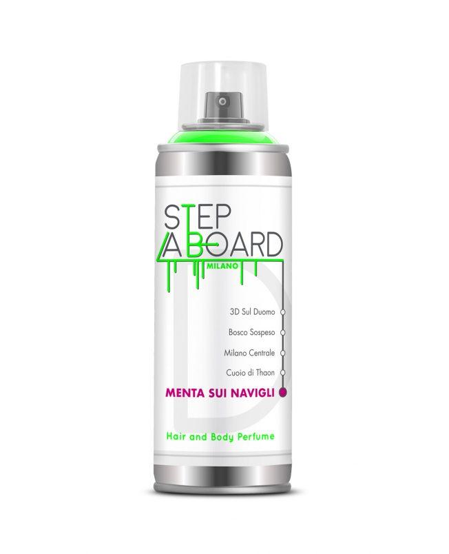 Menta sui navigli Profumo 150ml Spray Step Aboard